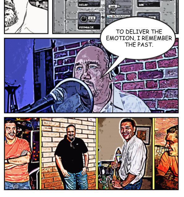 Comic-style-panesl-for-Video-Animation